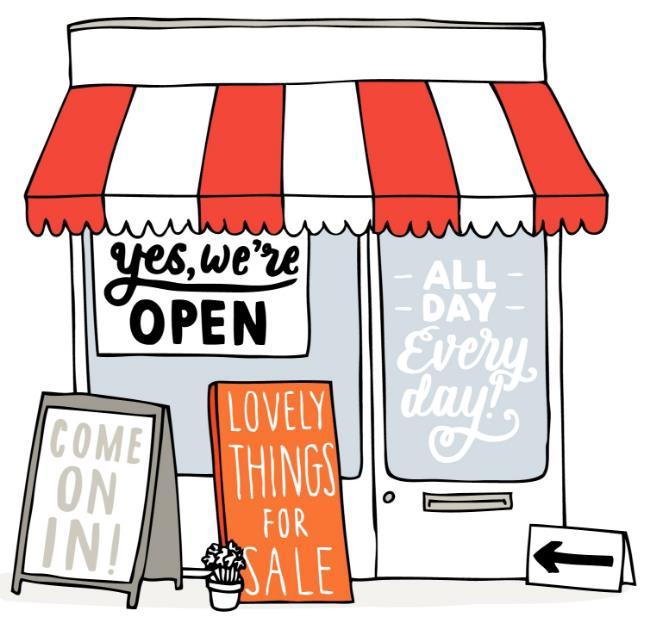 Как построить магазин на своем участке