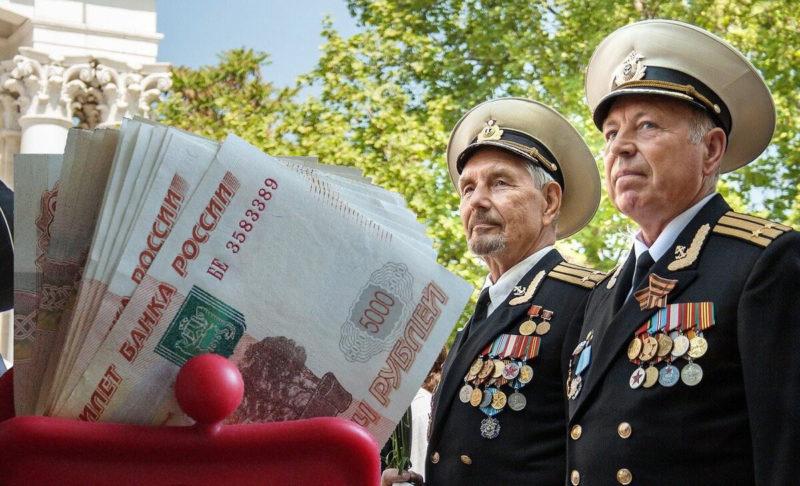 Военная пенсия в 2021 году