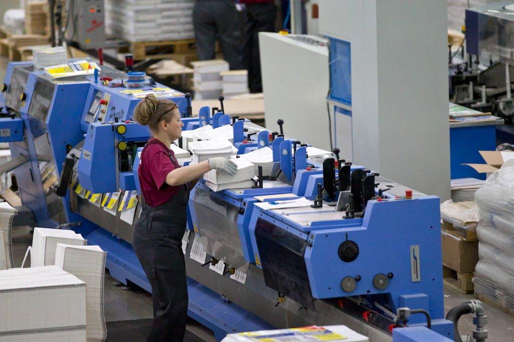 Работники трудятся