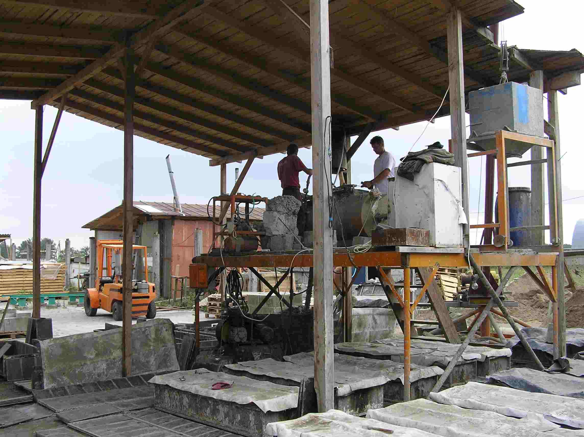 Бизнес-план по производству газобетона