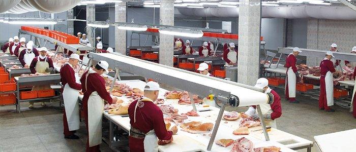 Персонал мясокомбината