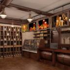 Интерьер магазина по продаже пива