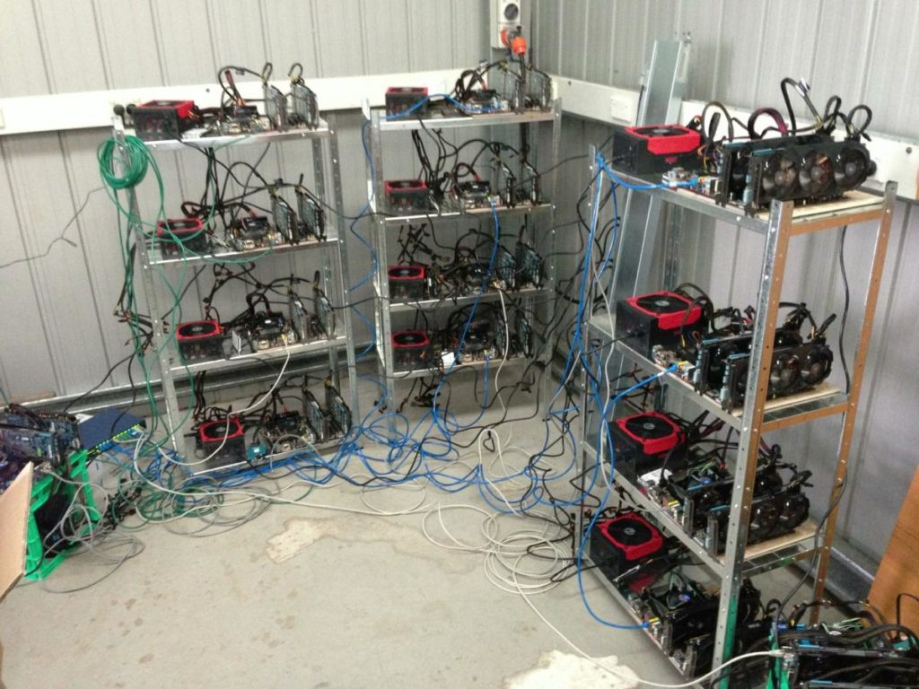 Оборудование для майнинга биткоинов
