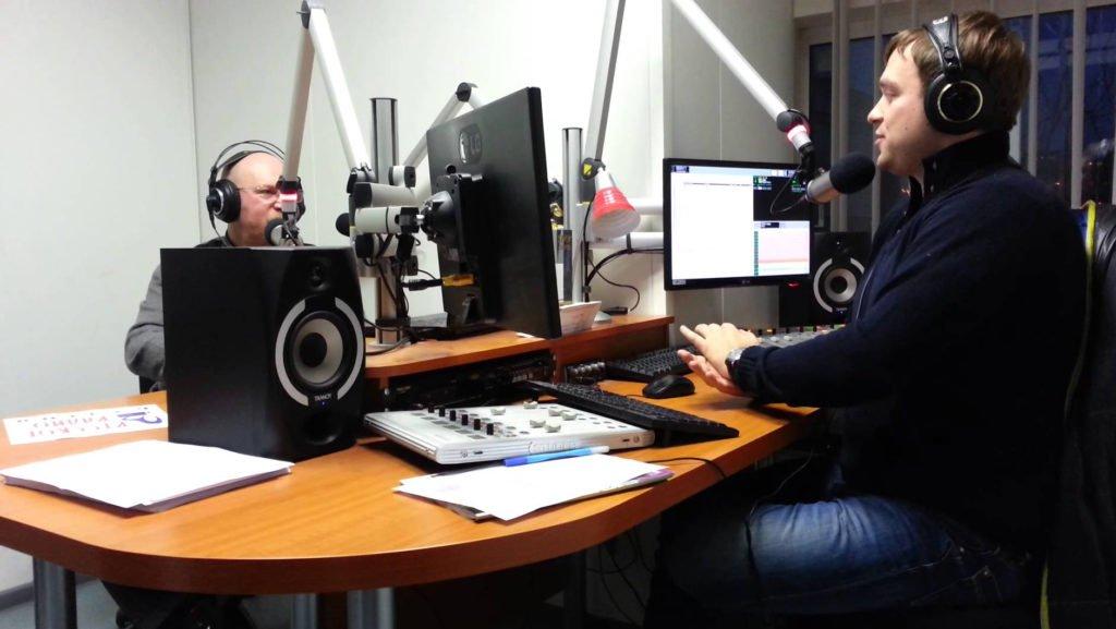 Радио ведущие в работе