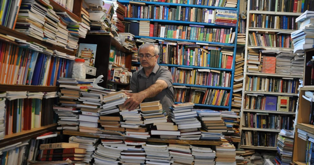 Продавец литературы