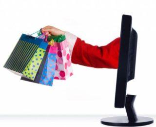 Рука с покупками