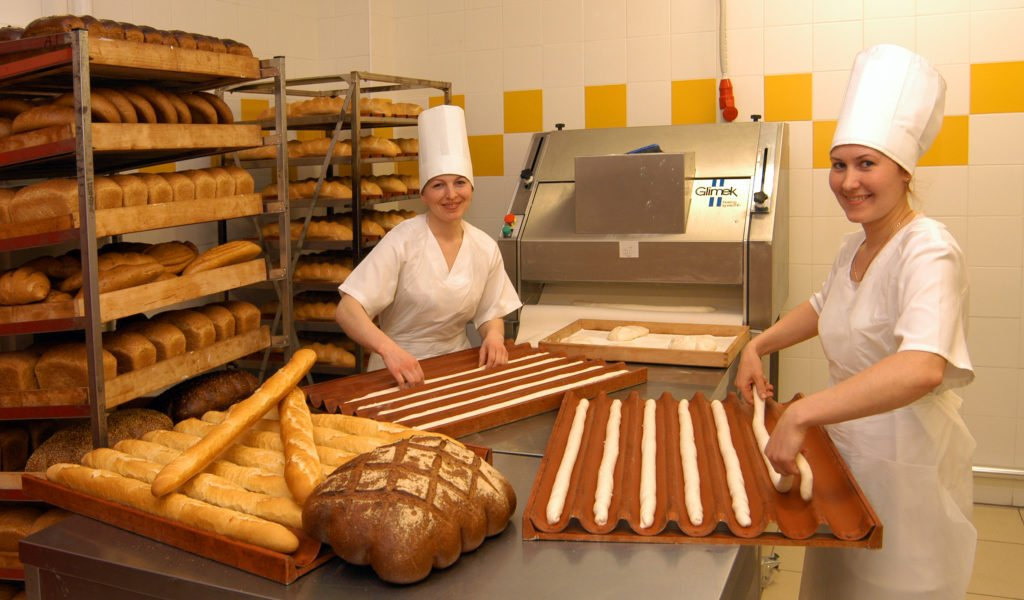Пекари работают