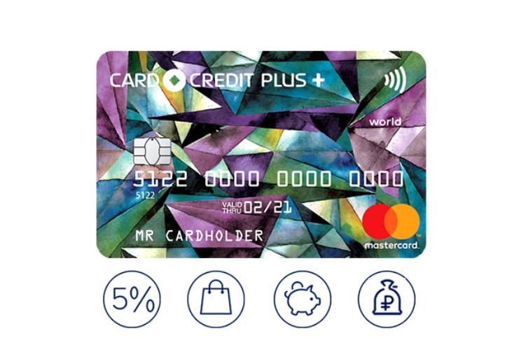 Кредит Европа Банк — Card Credit Plus с овердрафтом