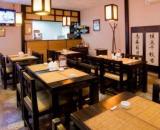 Красивое помещение суши бара