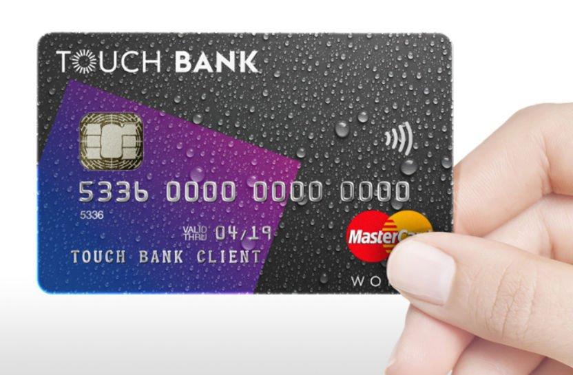 карта тач банк
