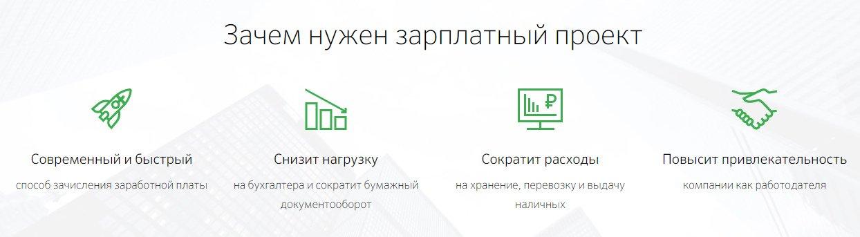 Удобства и выгоды зарплатного проекта Сбербанка