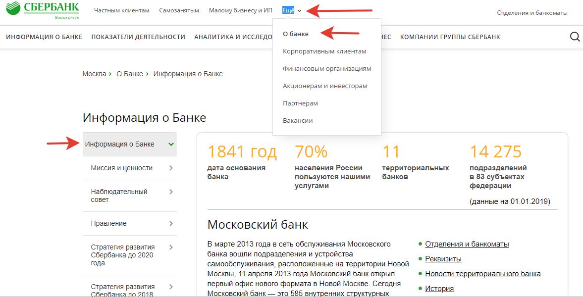Официальныйсайт Сбербанка