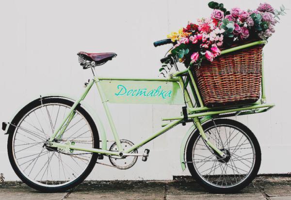 Доставка, велосипед