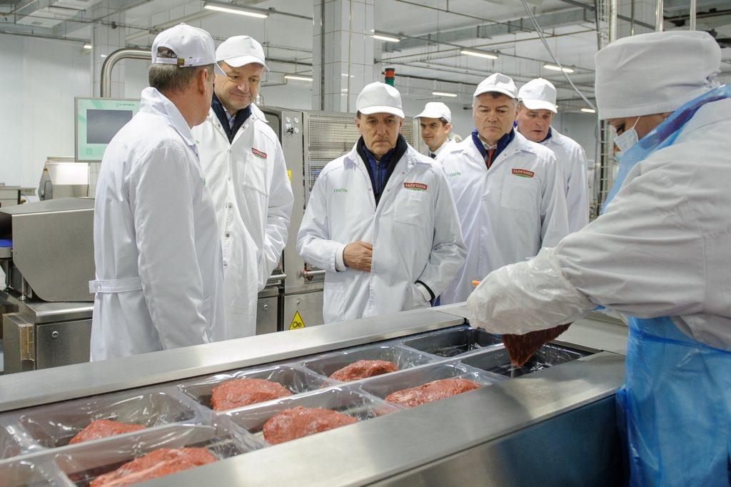 Открытие мясокомбината