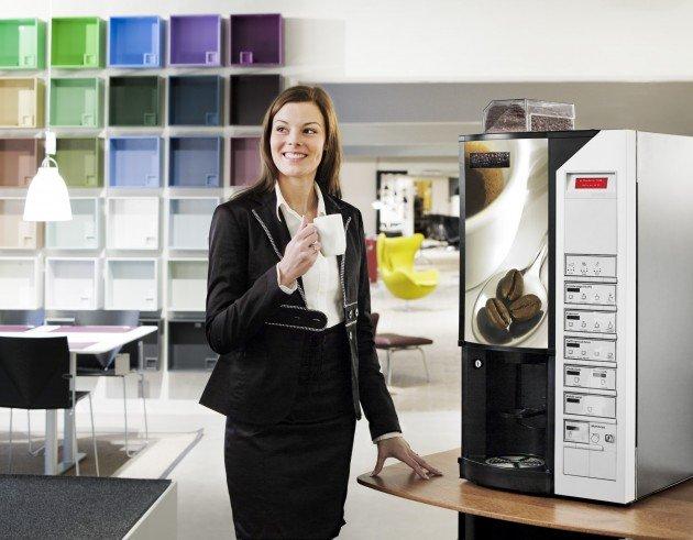Кофемат в офисе