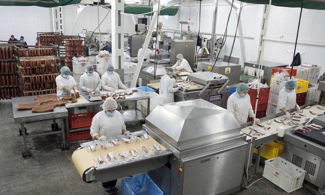 Помещение мясокомбината