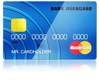 кредитная карта авангард