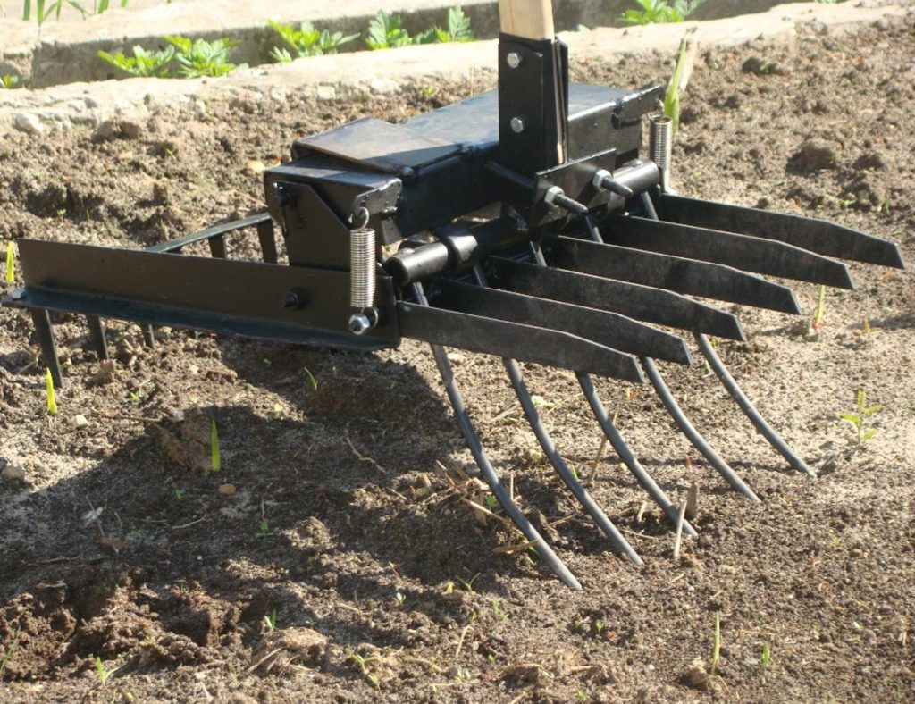 Механическая лопата просеиватель