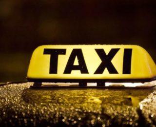 Баннер такси