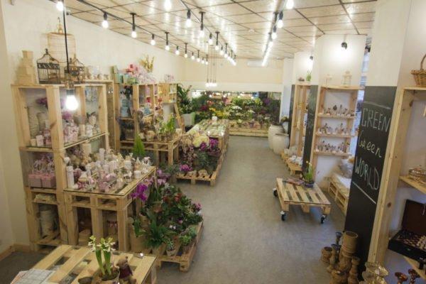 Цветочный магазин, заставка