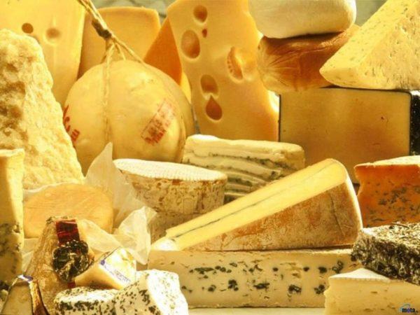 Готовая сырная продукция